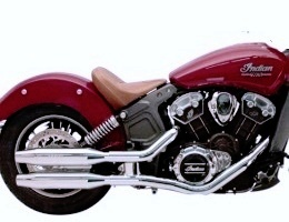 Indian Scout Sixty Supertrapp Exhaust System