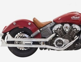 Indian Scout Sixty Bassani Exhaust System