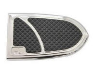 CARL BROUHARD ELITE BRAKE PEDAL COVERS CHROME IFP-0001-C