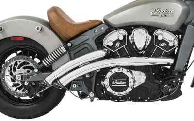 Indian Scout Freedom Radical Radius Exhaust