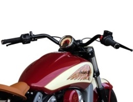 Indian Scout Klock Werks handle bars KW06-01-5006-B