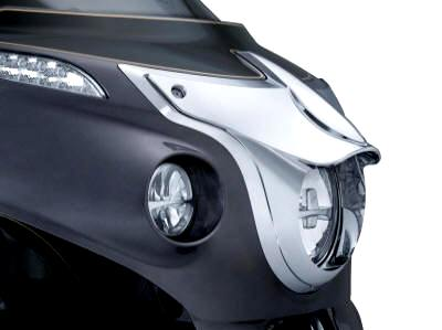 Kuryakyn Headlight Bezel Chrome 5682