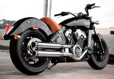 Indian Scout | Bobber | Sixty RCX Slip On Muffler Exhaust RCX220