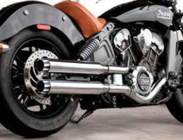 Indian Scout RCX Exhaust Systems