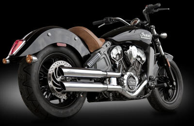 Indian Scout | Bobber | Sixty RCX Slip On Slash Muffler Exhaust RCX220C-SC