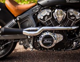 Indian Scout Sixty Trask Exhaust System