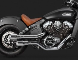 Indian Scout Vance & Hines Exhaust Systems